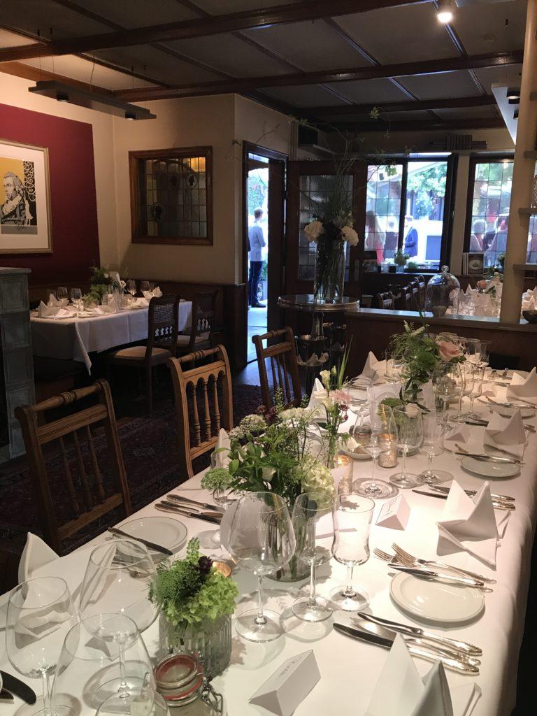 Unser Restaurant - Romantik Hotel & Restaurant Friedrich von Schiller